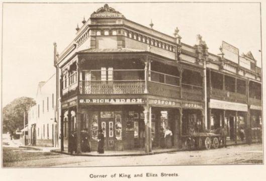 The Oxford Hotel in 1874, now home to Zanzibar in Newtown