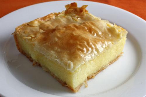 Galaktoboureko (Greek Custard Pie) | Linda Daniele